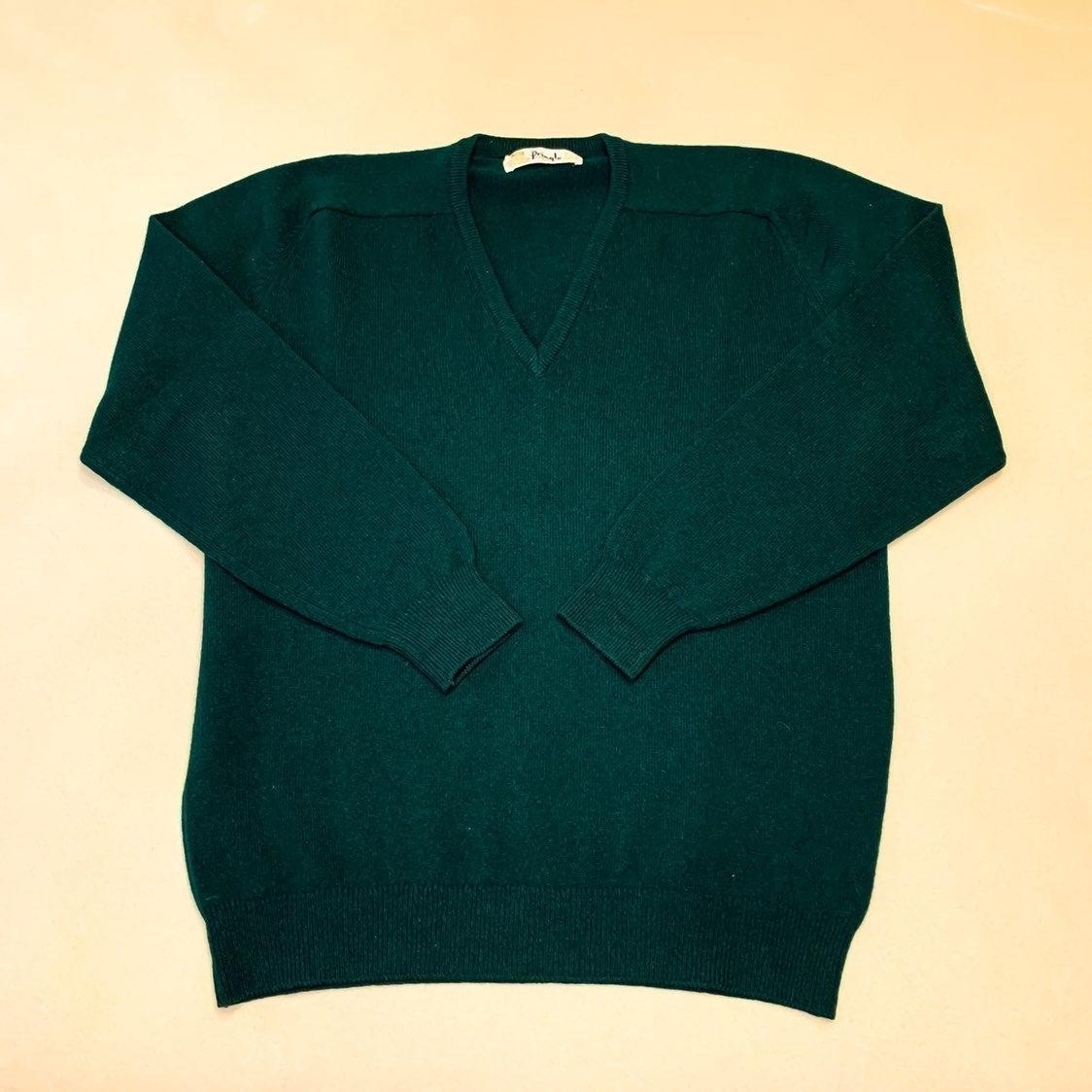 Vintage Pringle lambswool v-neck sweater