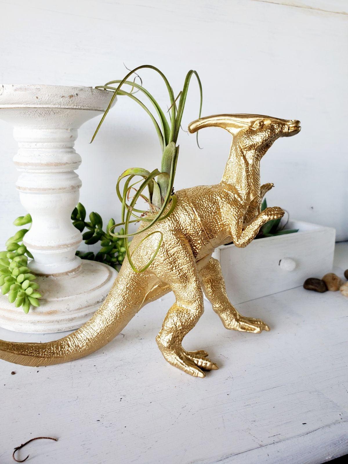 Parasaurolophus Dino Planter & Air Plant
