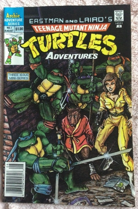 TMNT Adventures Comic Book