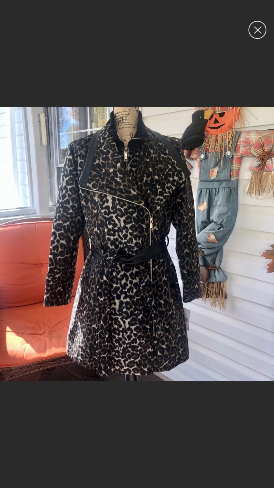 NWT Vince Camuto Belted Trench Coat