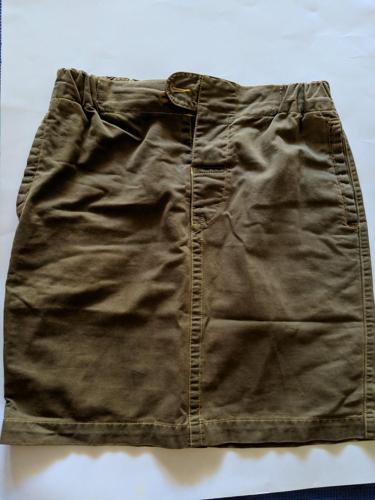 Benetton Anthology women's S denim skirt
