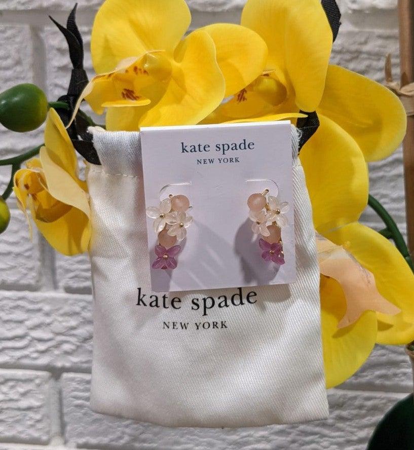NWT Kate Spade Full Floret earrings