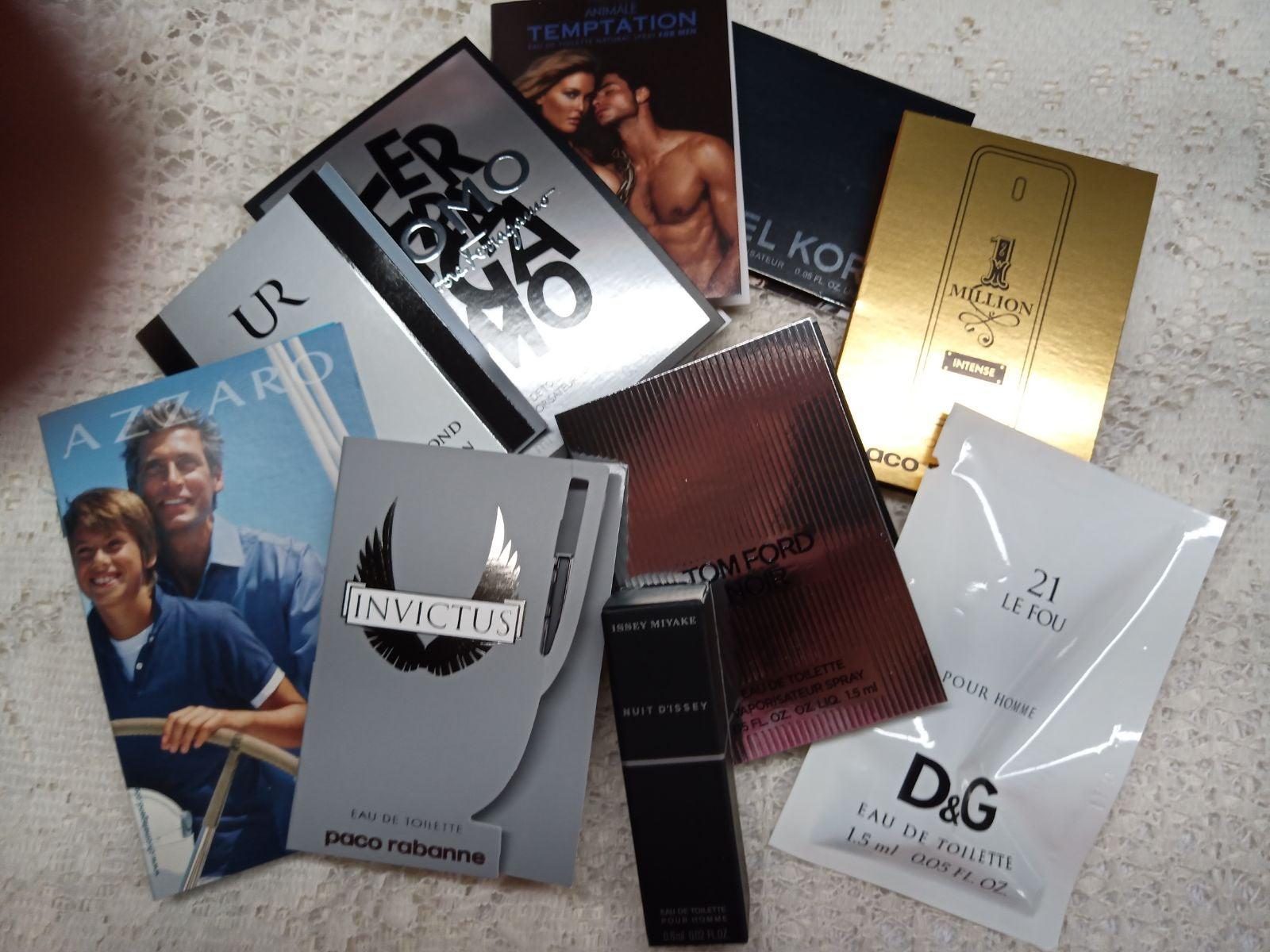 10 Premium Fragrance Samples Men
