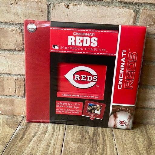 MLB Cincinnati Reds Scrapbook Complete