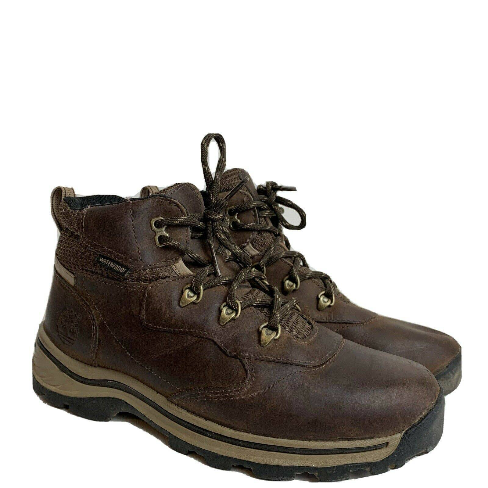 Timberland Brown Leather Waterproof Boot