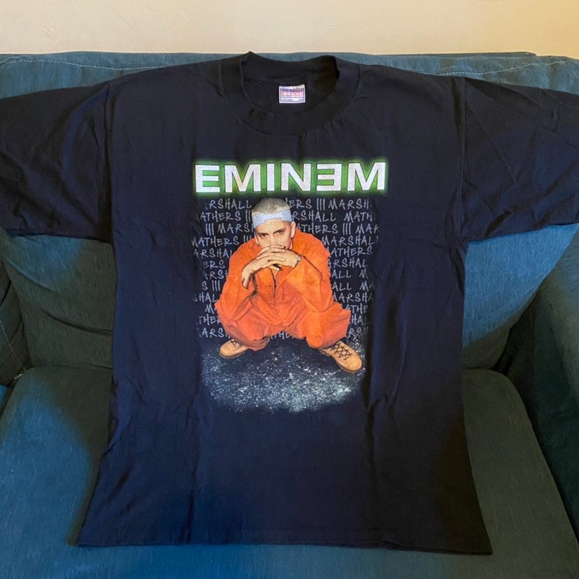 Vintage eminem criminal tour shirt