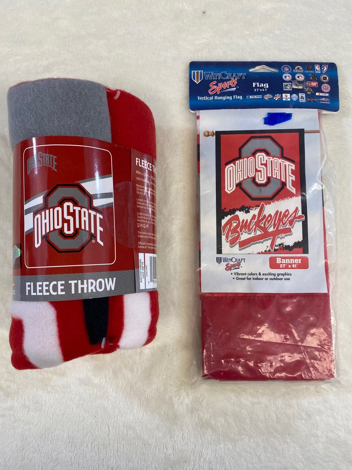 New Ohio State Throw and Ohio State Flag