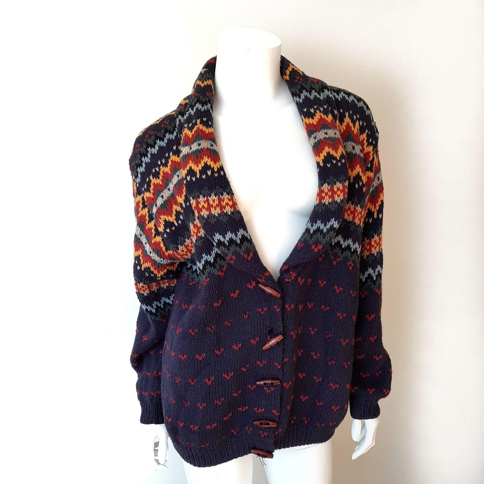 Vintage Bushwacker Fair Isle Sweater