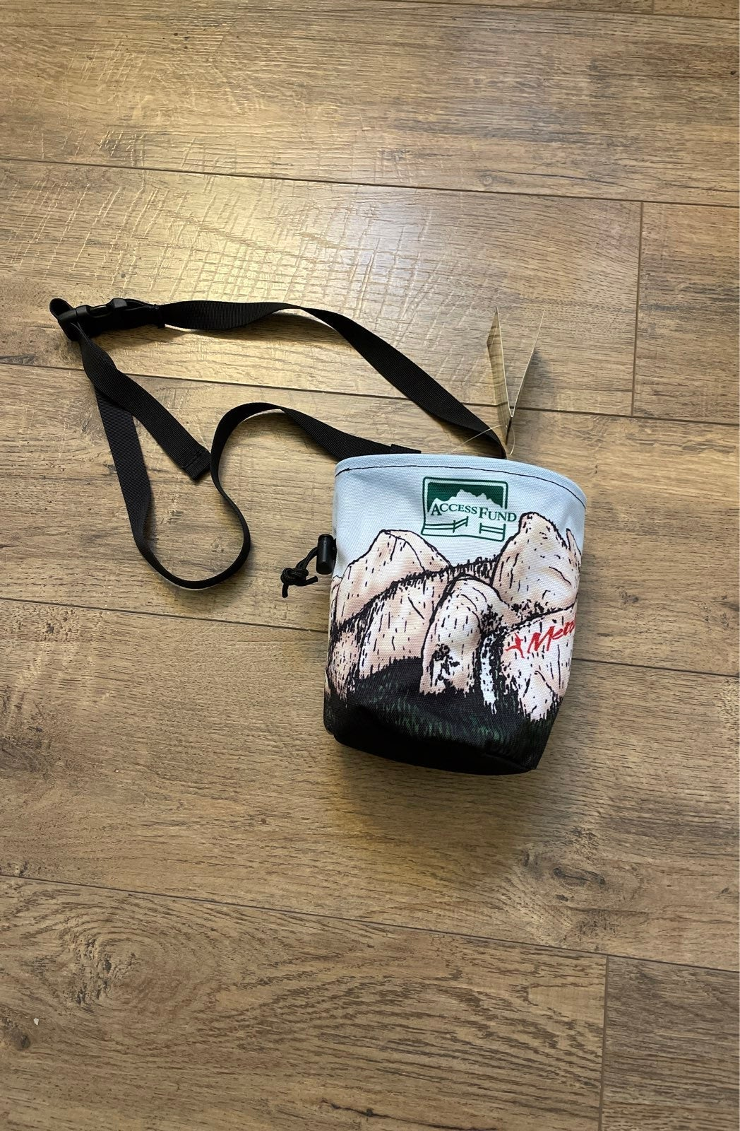 Chalk bag Access Fund Special Edition