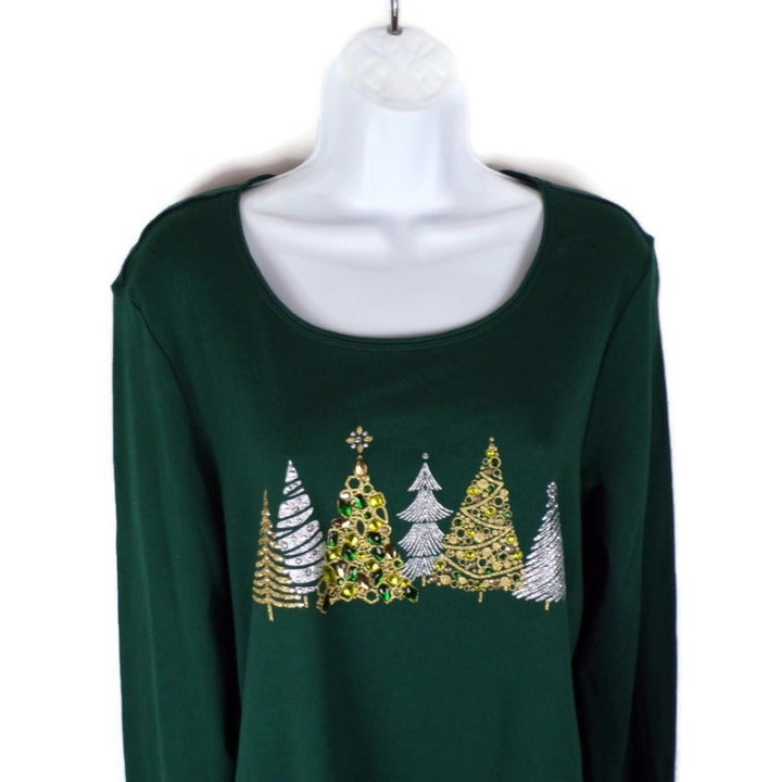 Holiday Whimsy Women's Top Med 2220-M