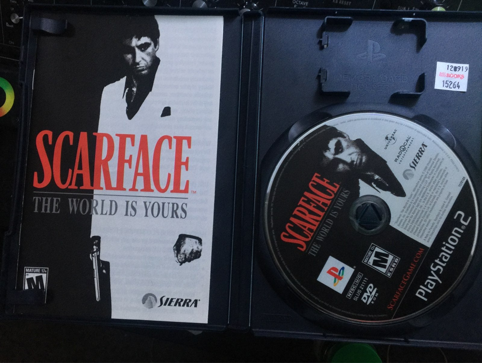 Scarface: The World is Yours on Playstat