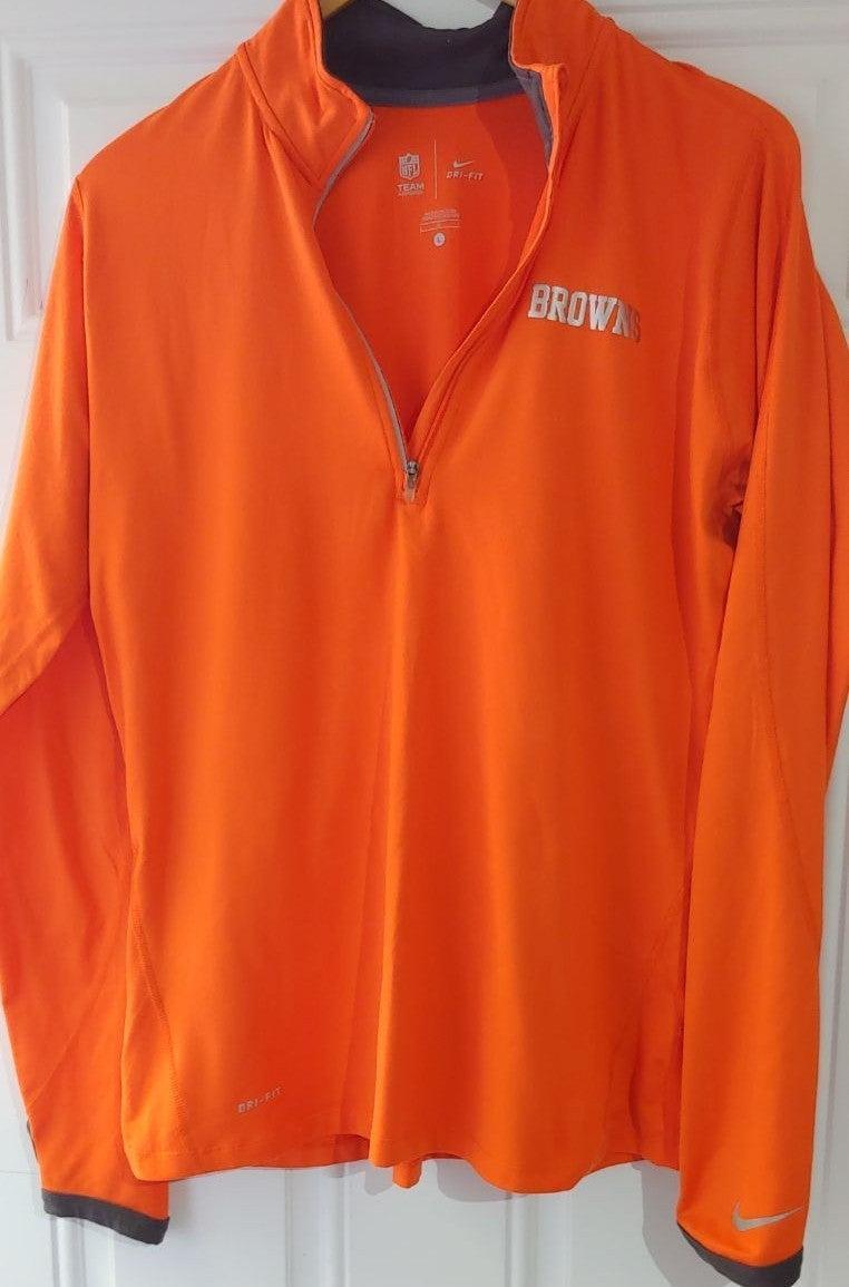 Cleveland Browns Nike Ladies 1/4 Zip