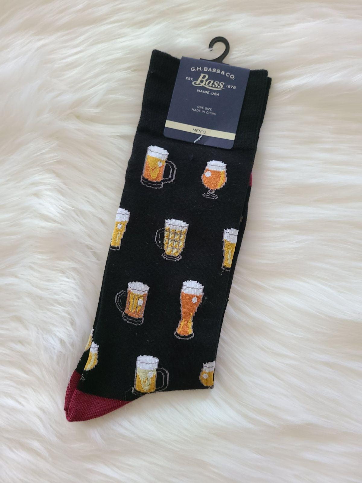 Beer Glass Socks