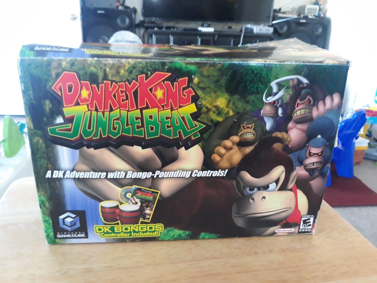Donkey Kong Jungle Beat on Nintendo Game
