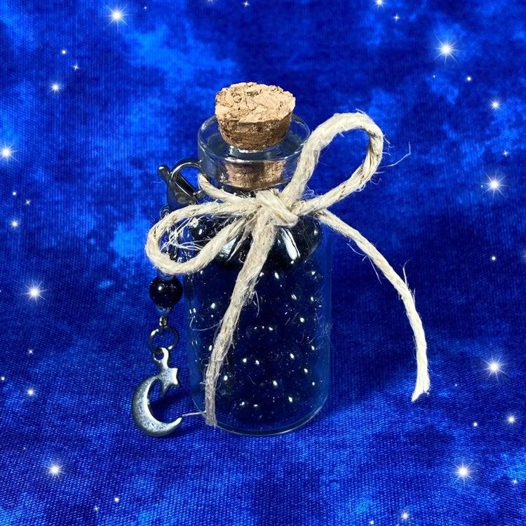 Dark Blue Goldstone 4mm Glass Beads