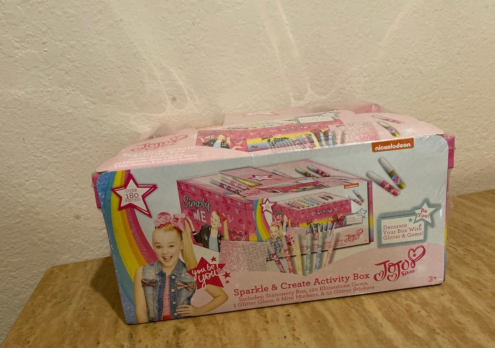 JoJo Siwa Sparkle & Create Activity Box