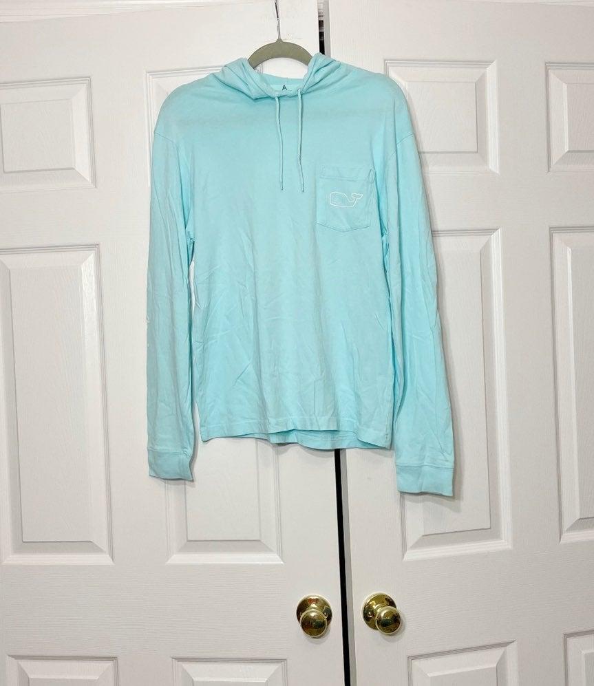 Vineyard vines women's blue hoodie