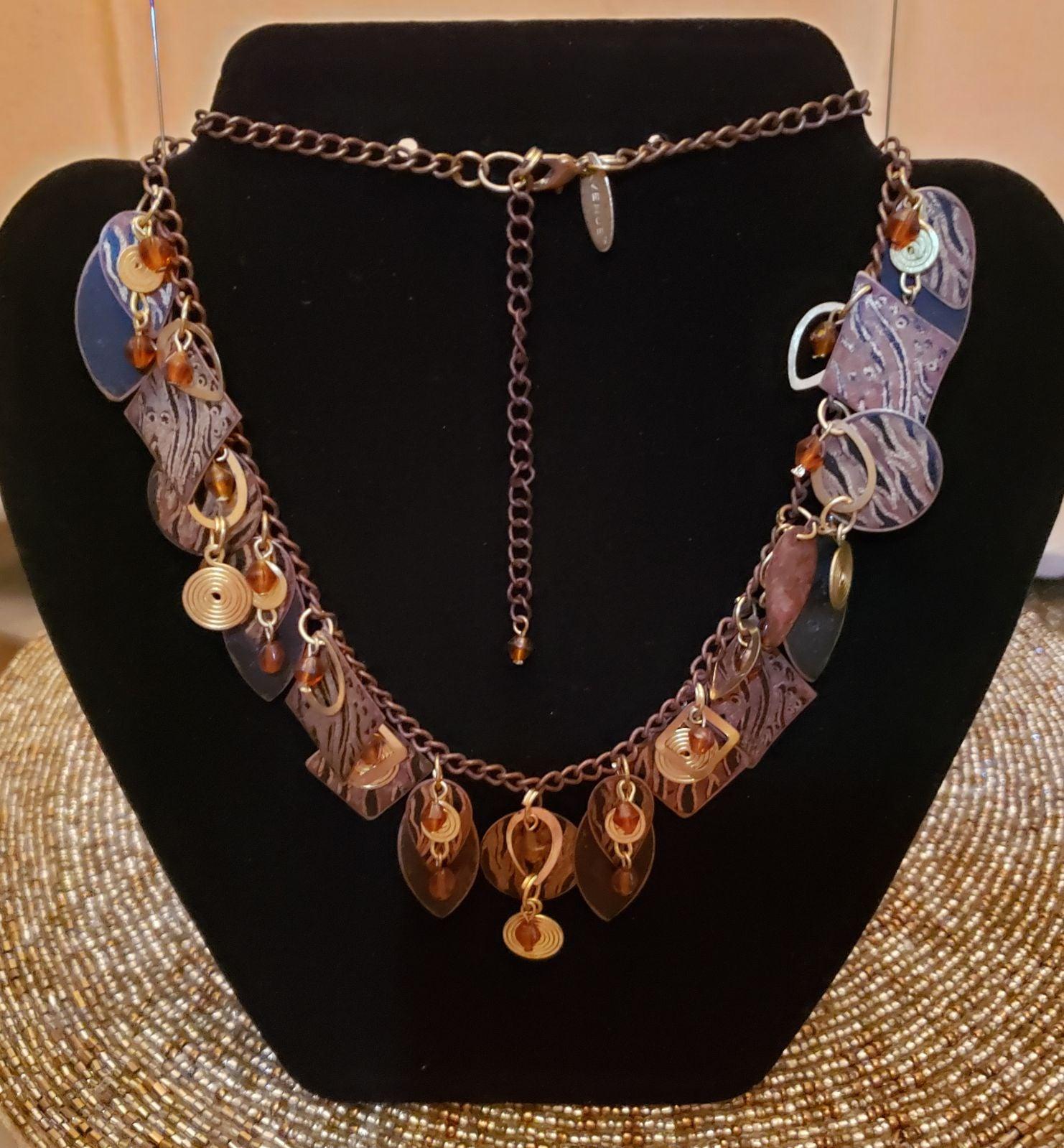 Avenue Animal Print Necklace