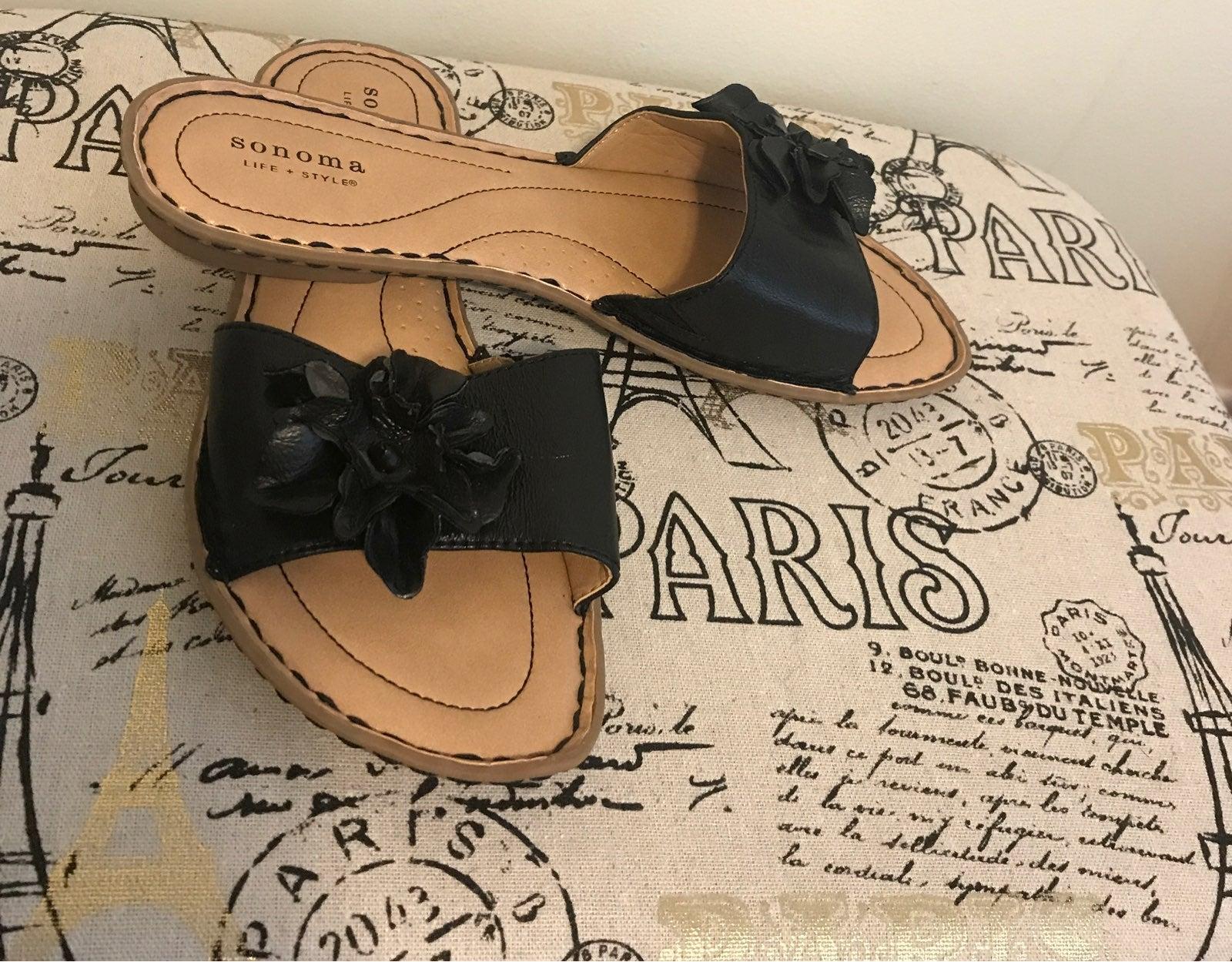 New sonoma sandals/ slides size 10