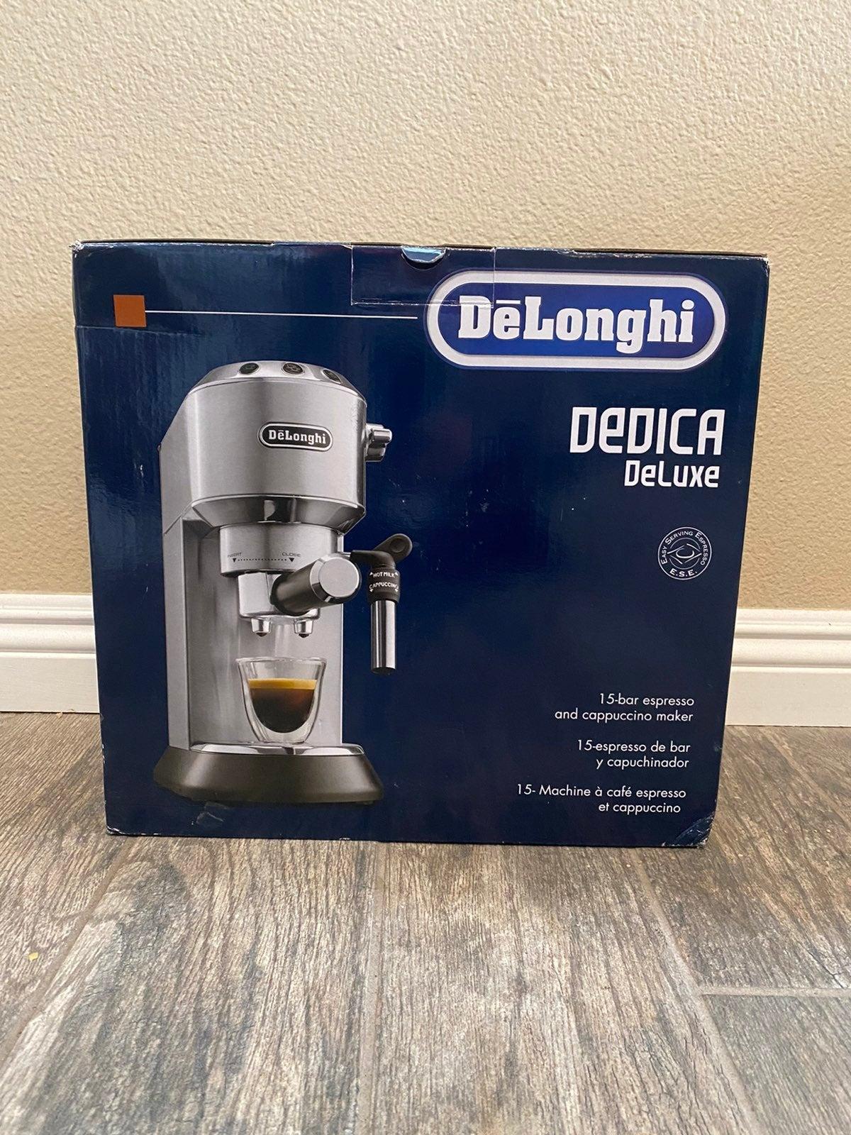 DēLonghi Dedica Deluxe Espresso & Cappuc