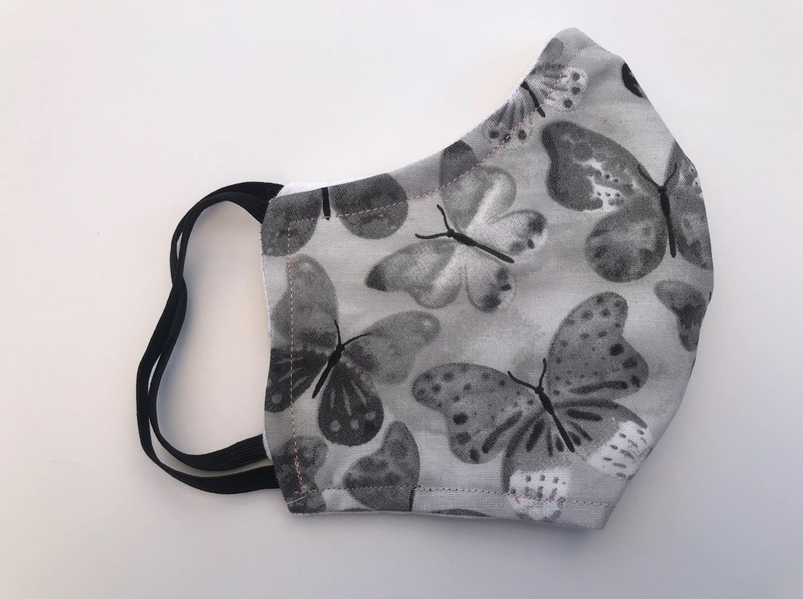 Butterflies print Face Masks 100% cotton