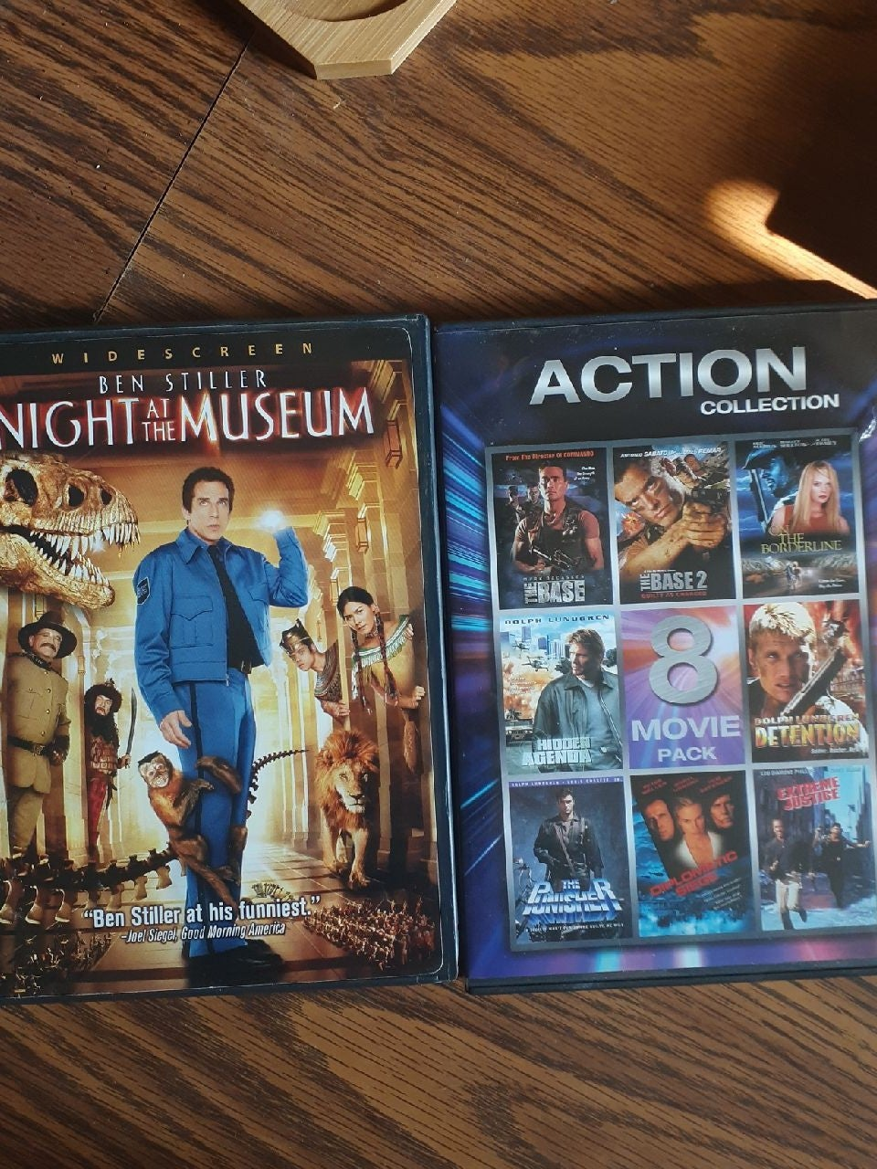 Night at the Museum and eight more movie