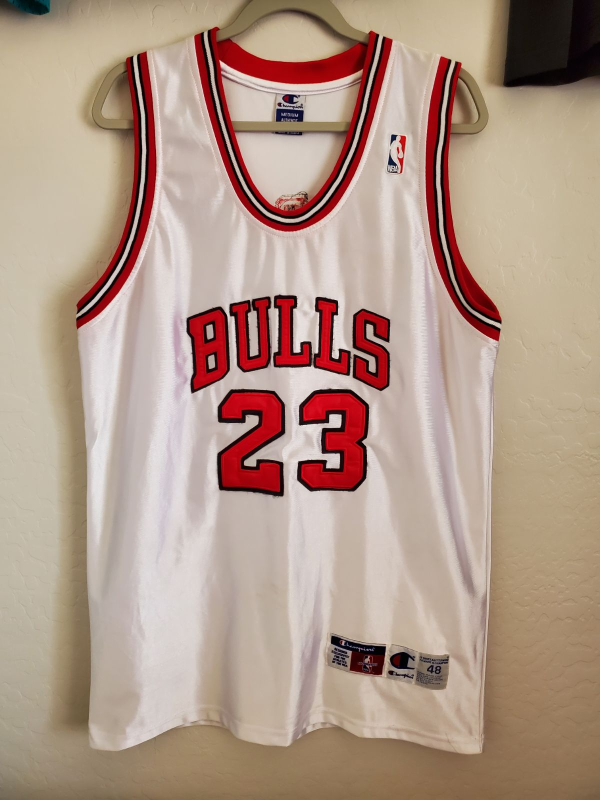 Champion Authentic Michael Jordan Jersey