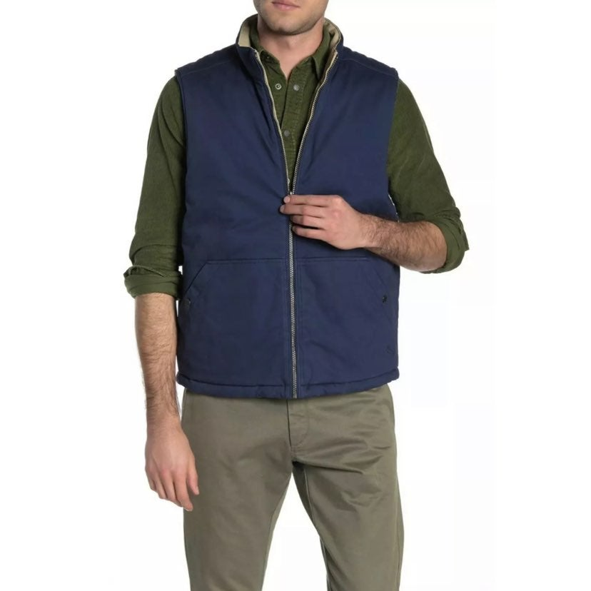 NEW Tommy Bahama | Reversible Vest Navy/