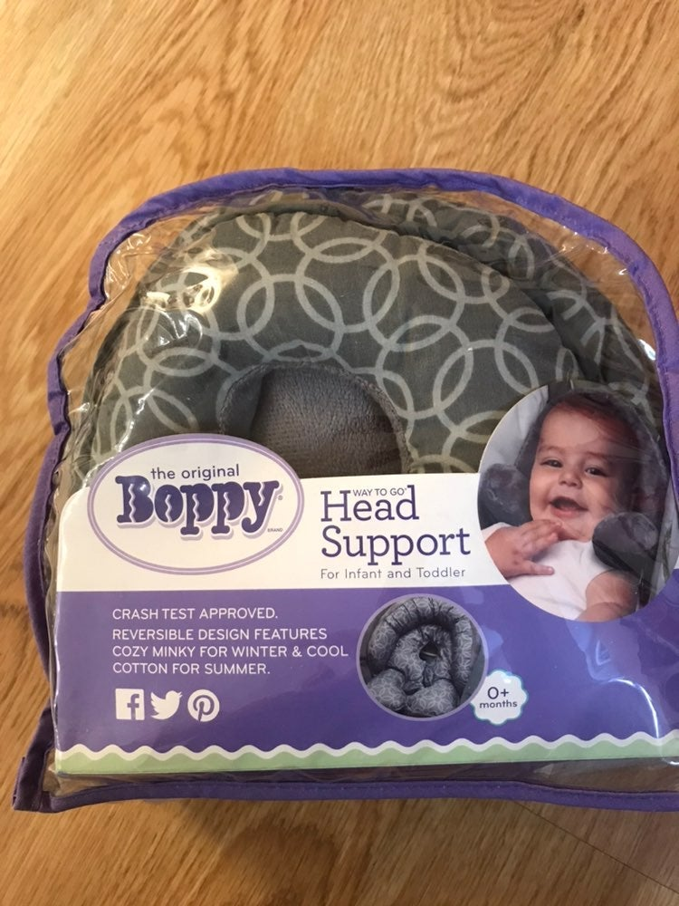 Boppy reversible head support