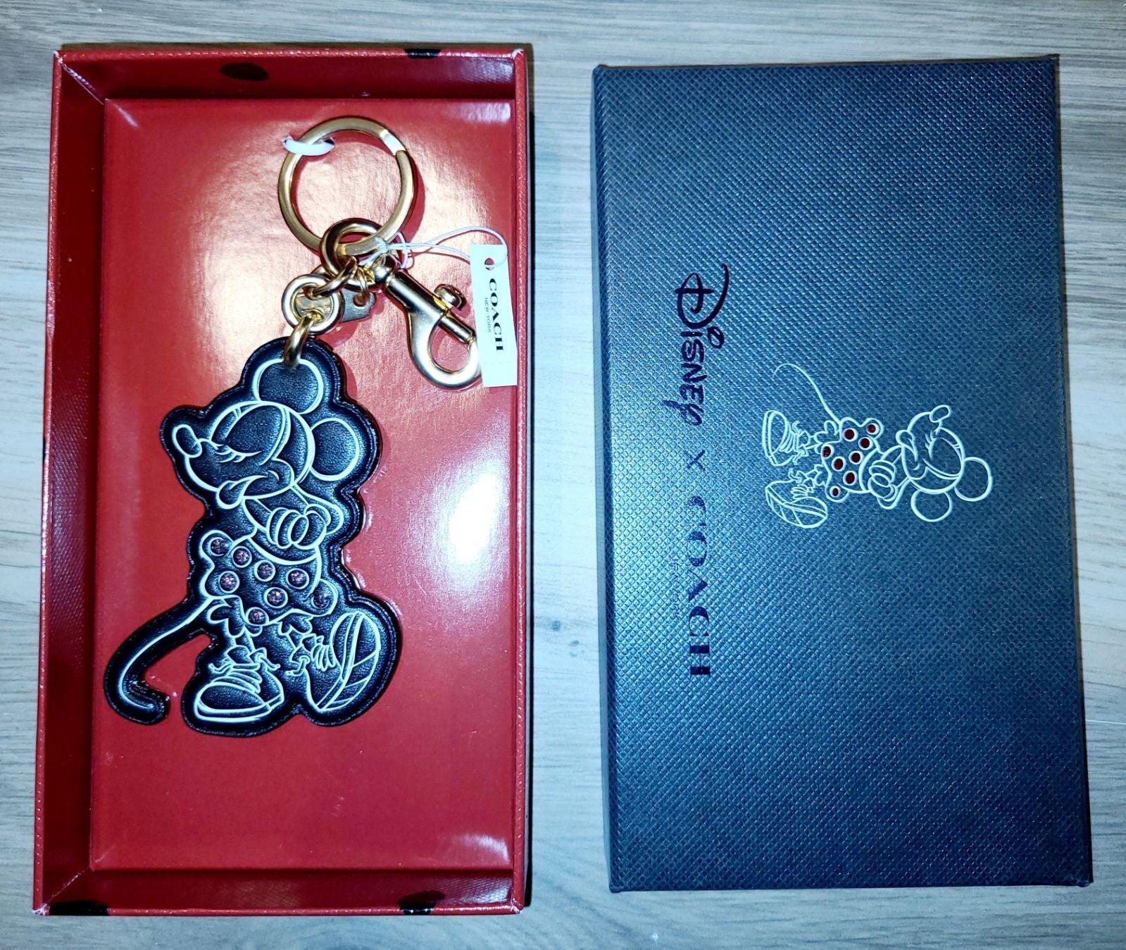 Disney X Coach Minnie Mouse Key Fob