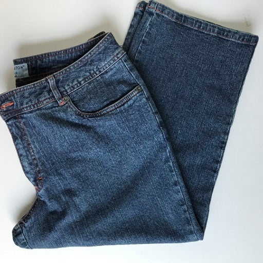 Jeans Stretch Cropped