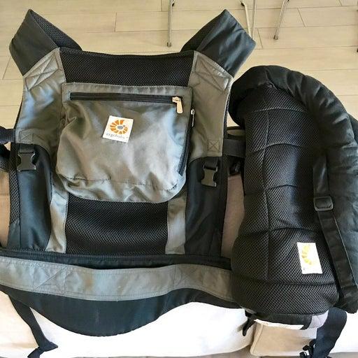 Ergo Baby Carrier w/ infant insert