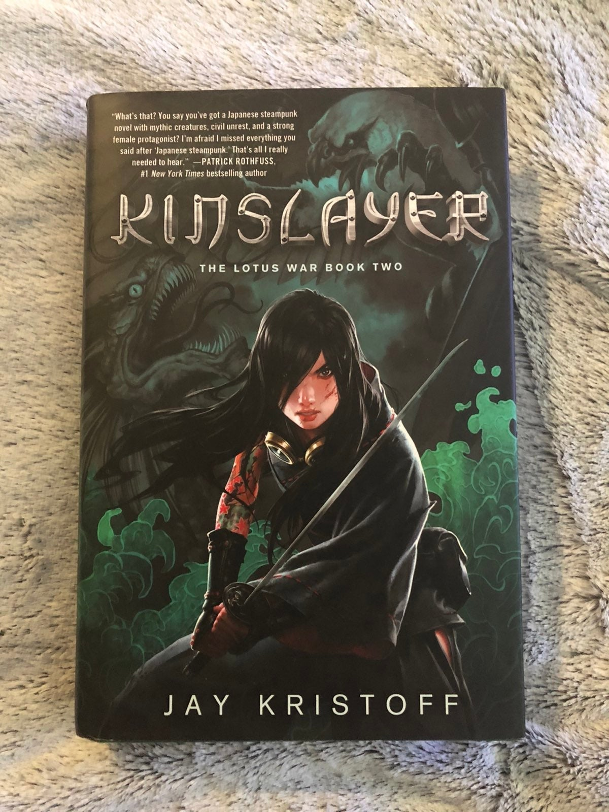 Out of Print HC Kinslayer Jay Kristoff