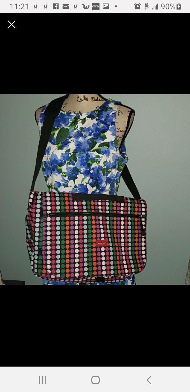 New Dickies Laptop Bookbag Messenger Bag