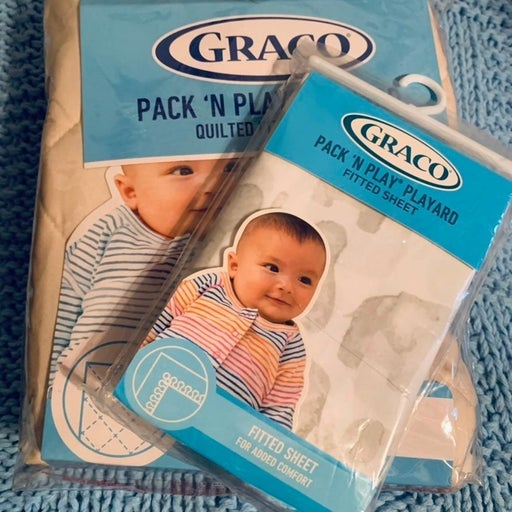 Graco Pack and Play Sheet Set