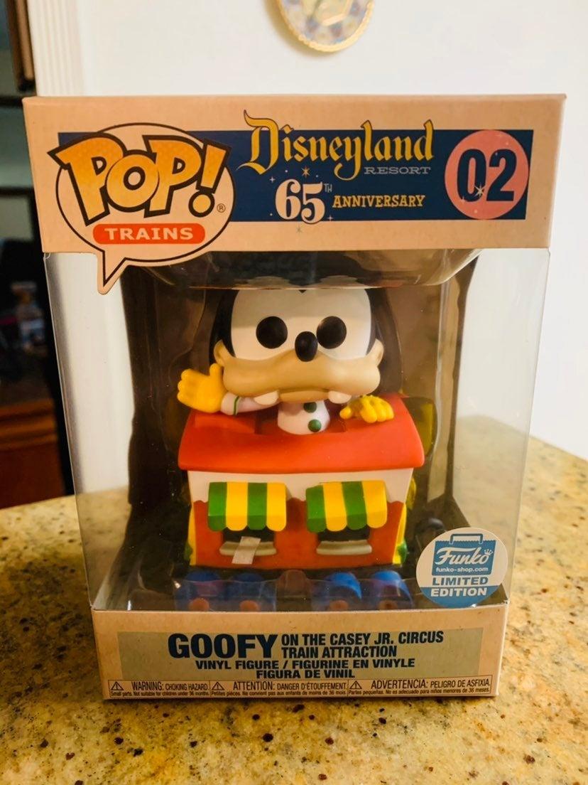 Goofy on Casey Train Funko Pop