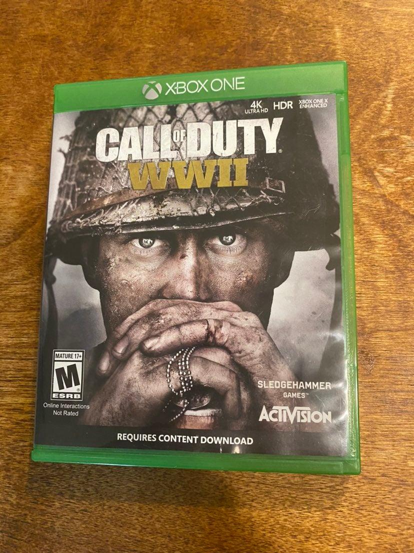 Call of Duty WWII Xbox One WW2 4K