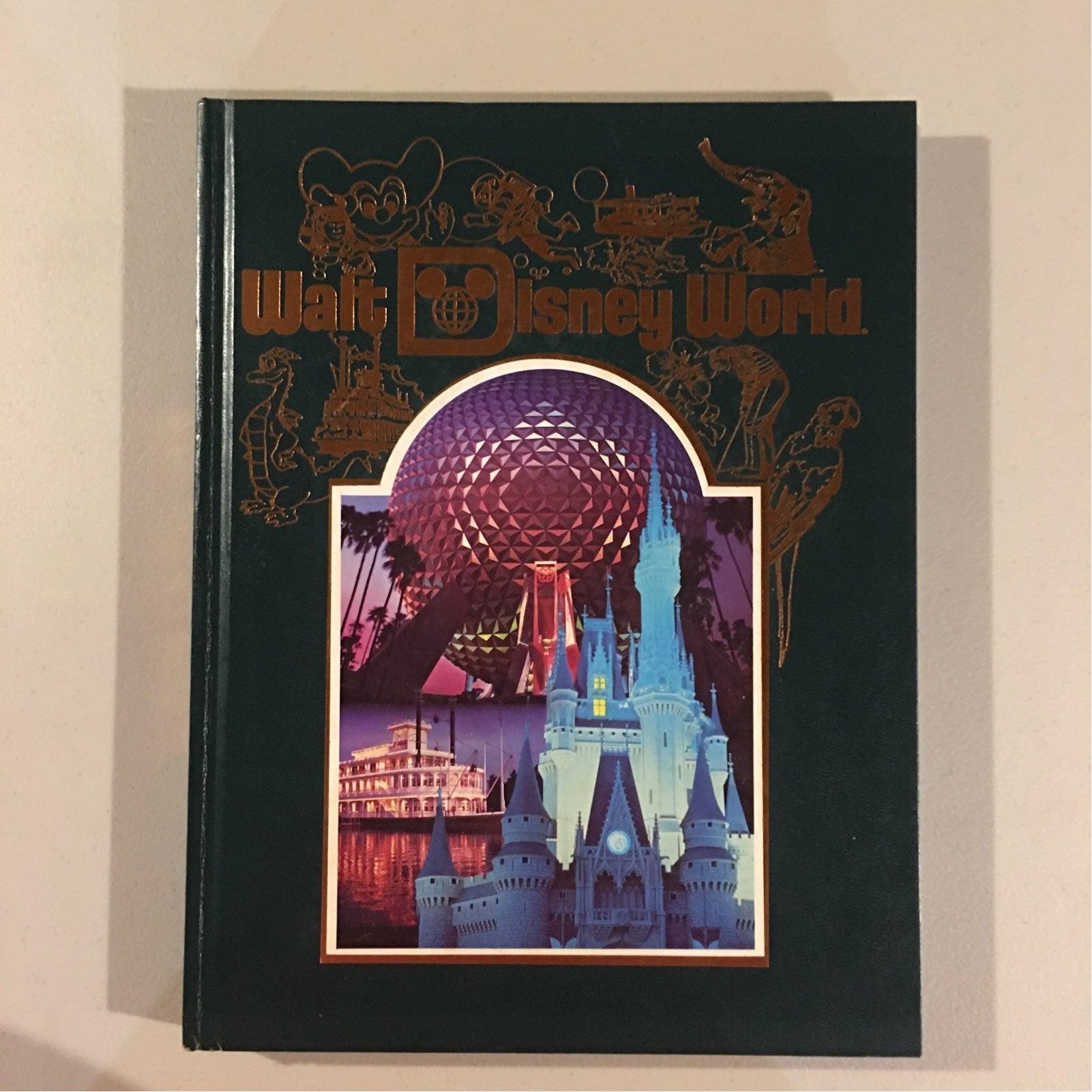 Walt Disney World 15th Anniversary Book