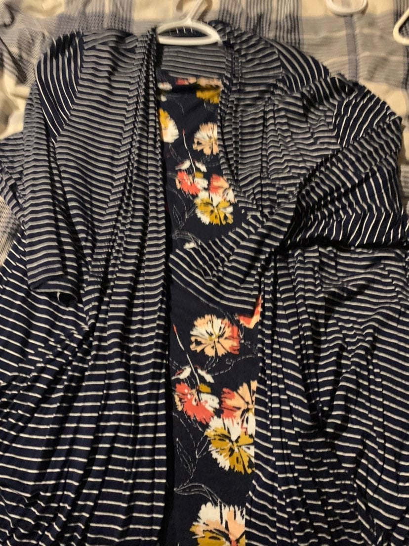 Maurices cardigan and tank