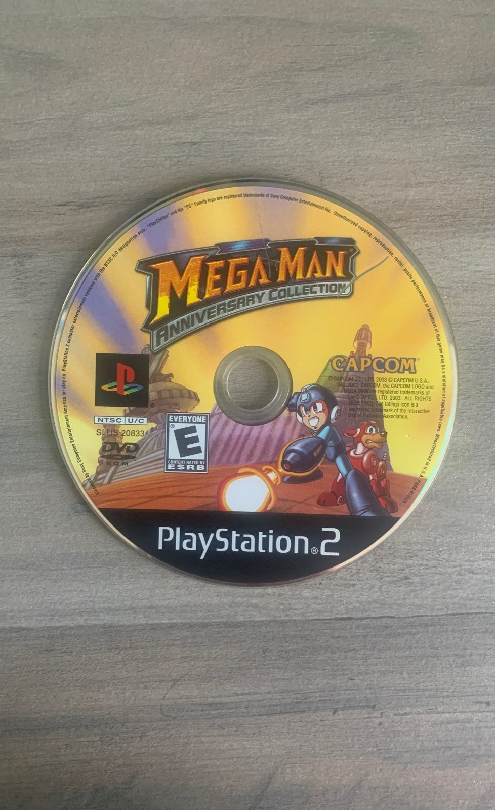 Mega man anniversary collectionPS2
