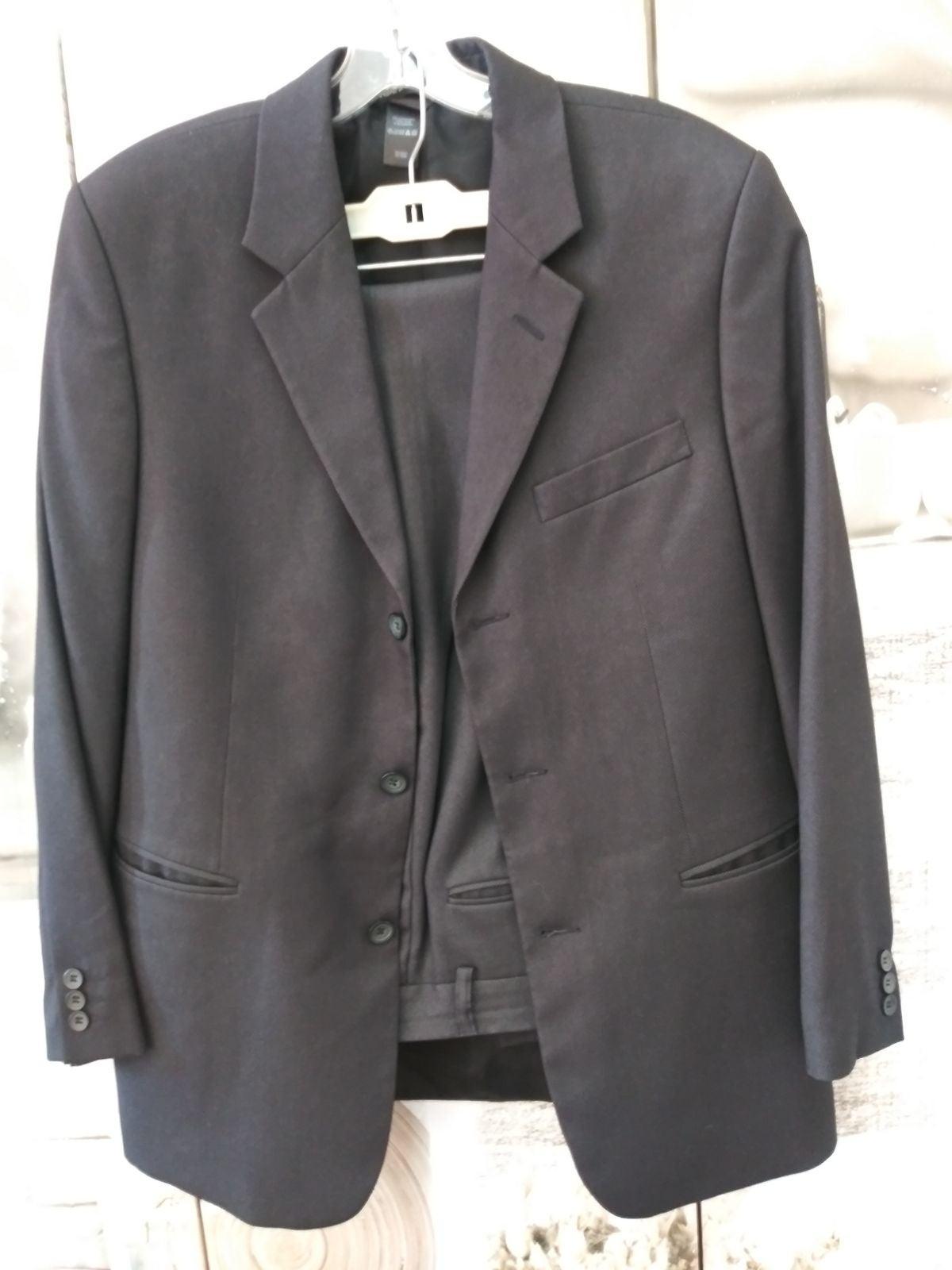 Three Botton Suit by Claiborne Sz. 38S