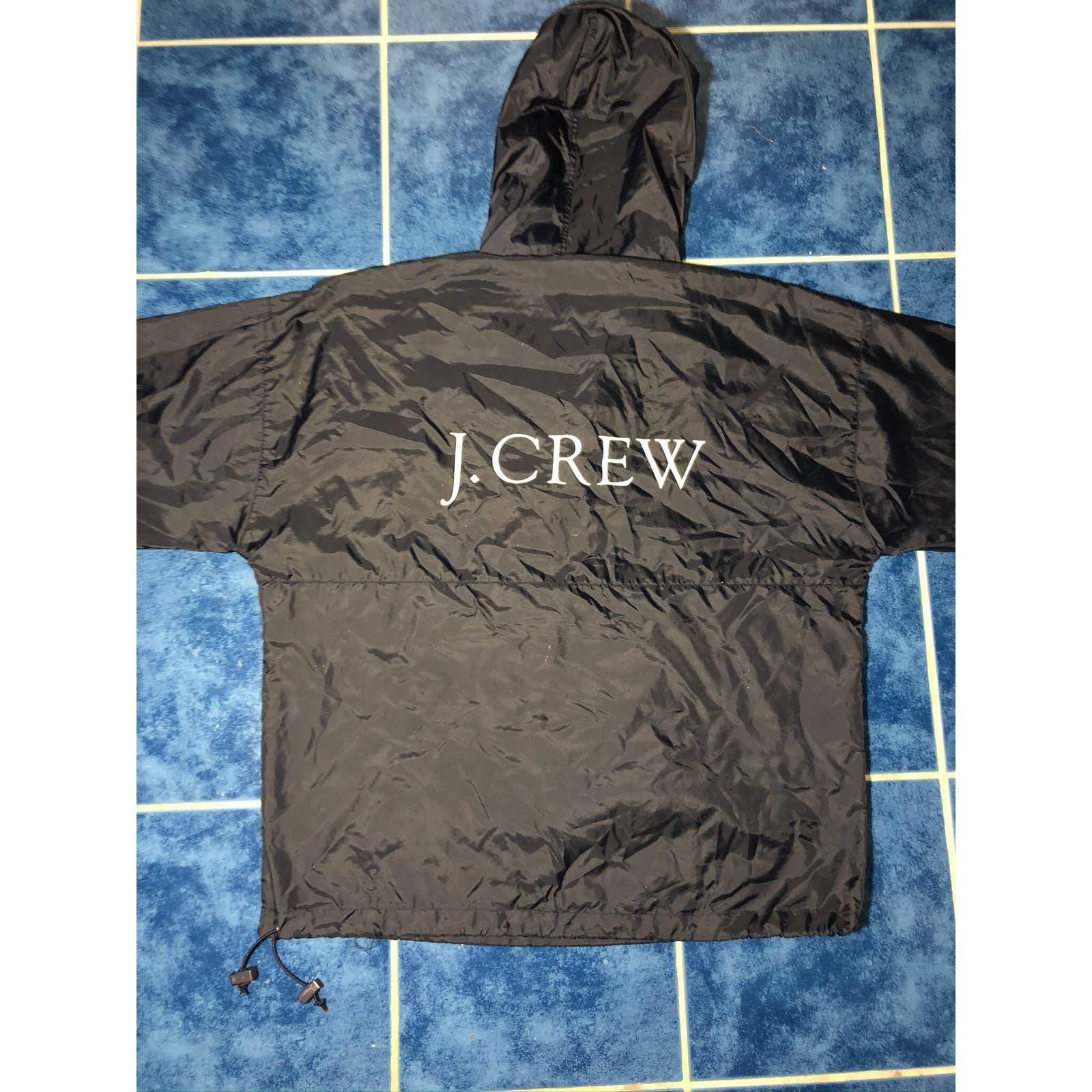 J.Crew half zipper windbreaker jacket.