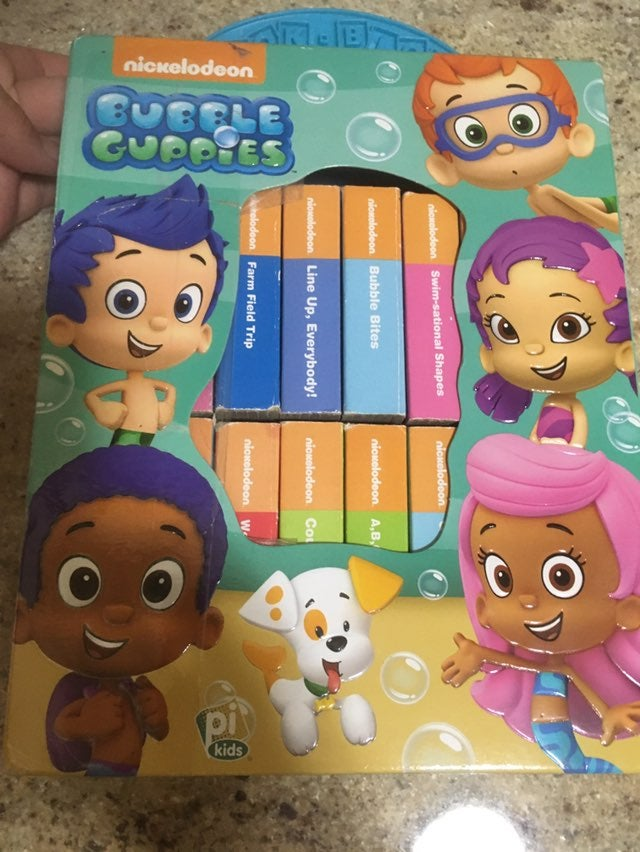 Bubble Guppies Board Books Set of 12!!!