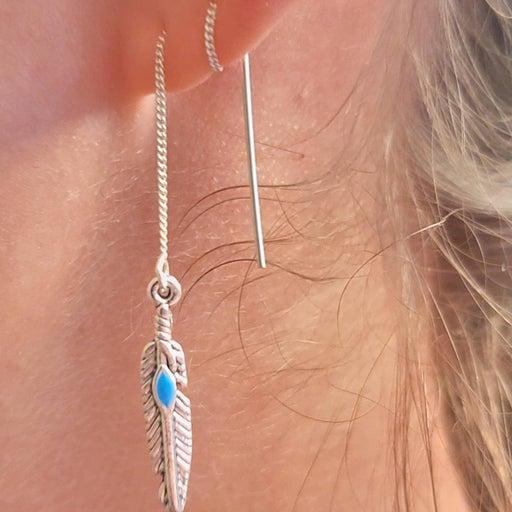 Custom threader earrings
