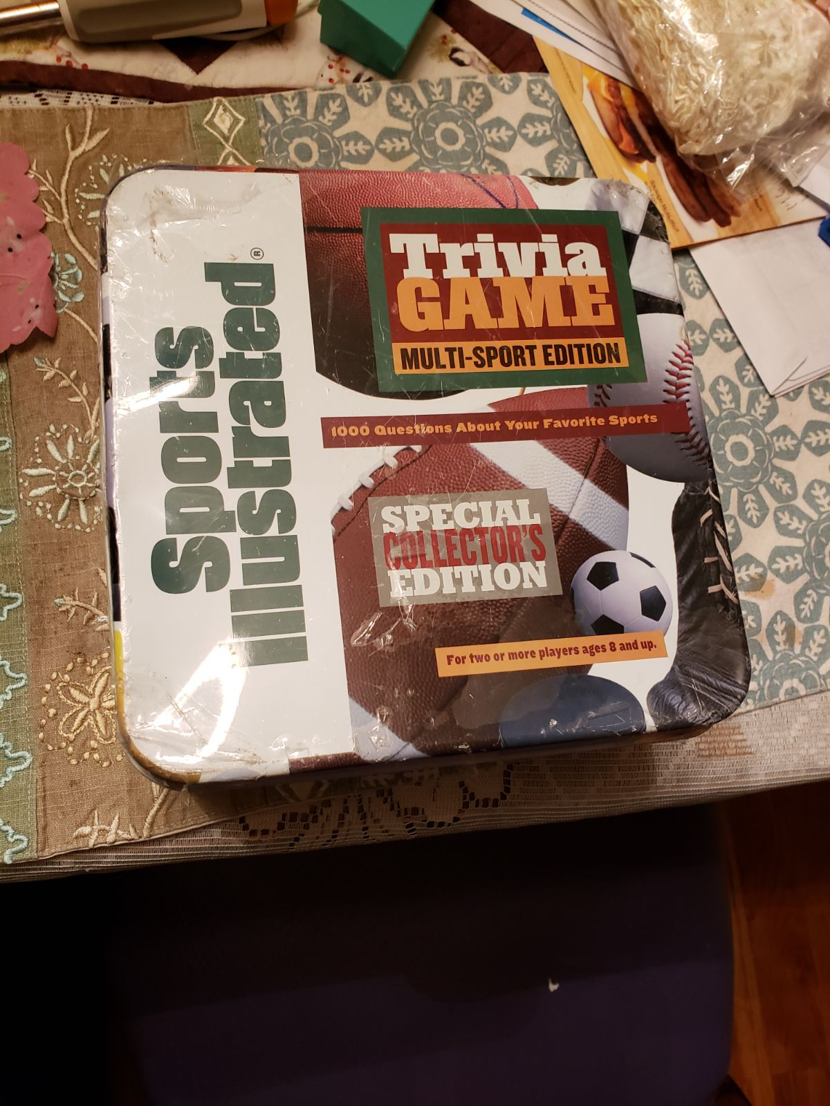 Sports illustrated trivia game