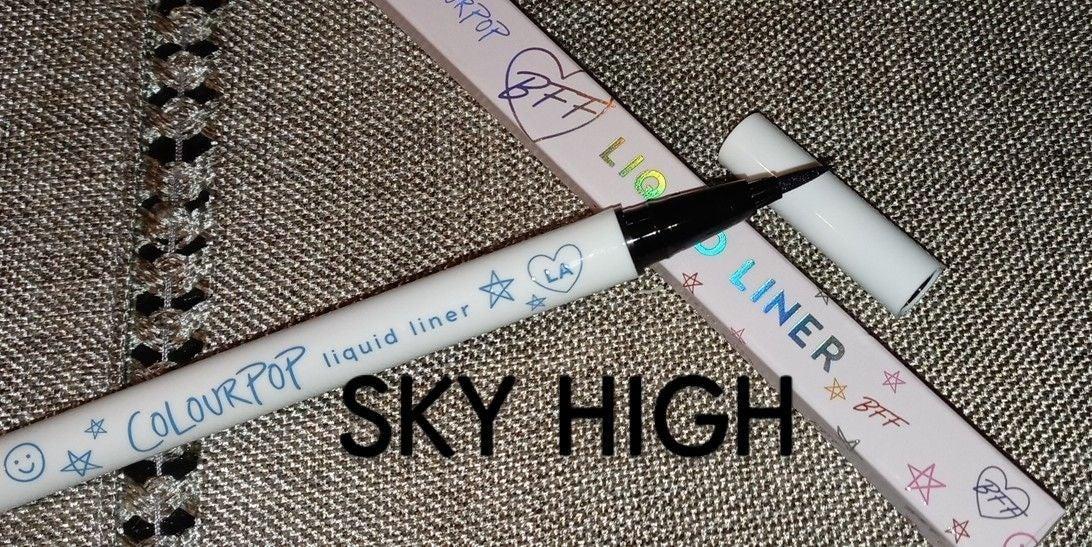 Colourpop Sky High Liquid Eyeliner
