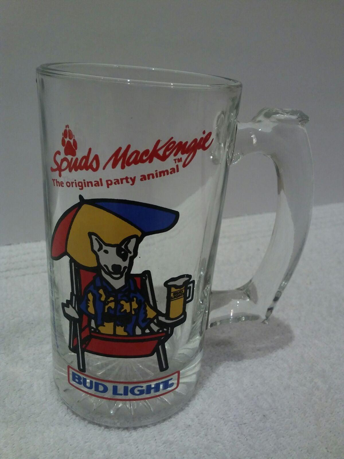 Vintage 1987 Spuds Mackenzie 12oz Mug