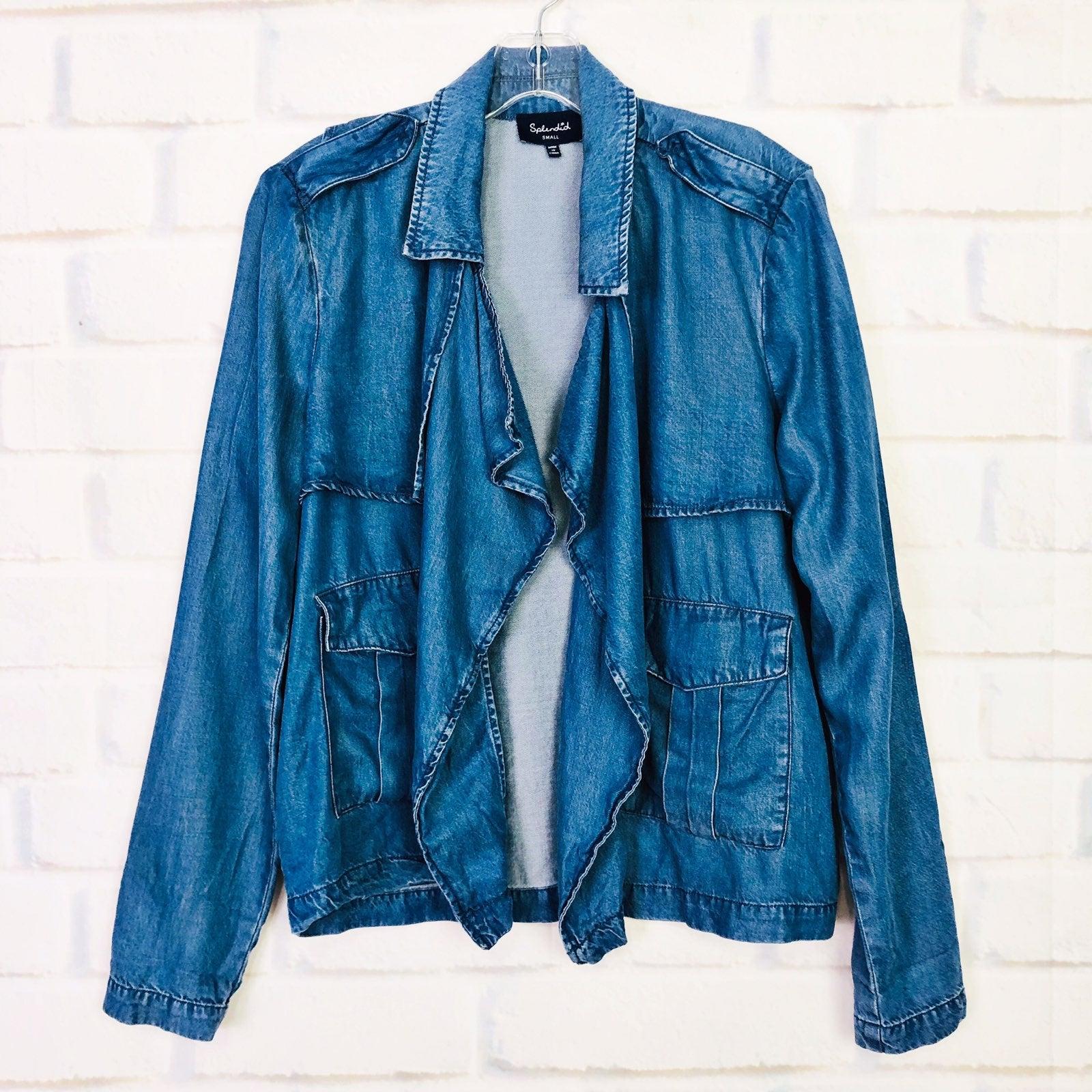 Splendid Soft Denim Chambray Jacket