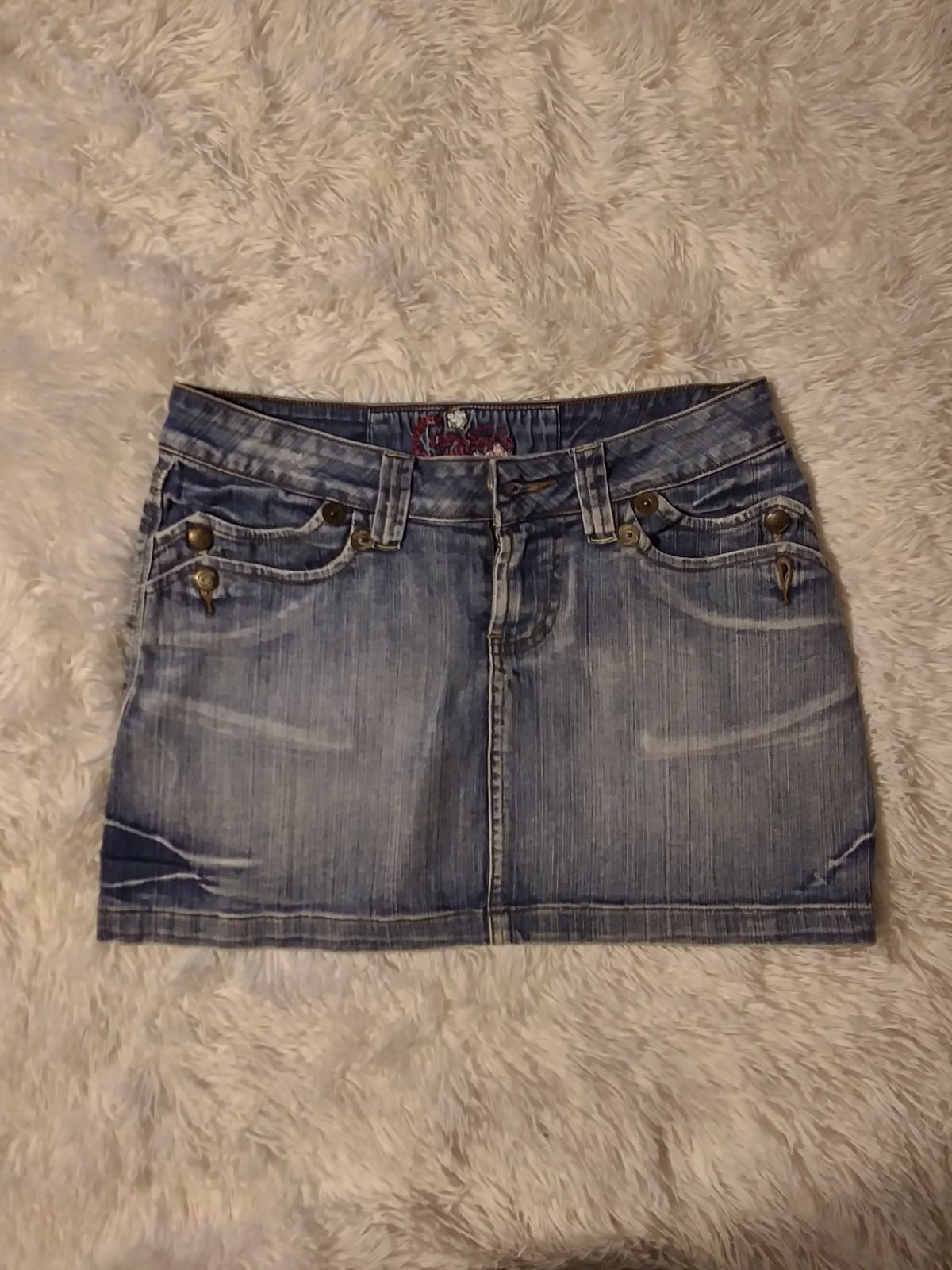 Vintage Candie's mini skirt