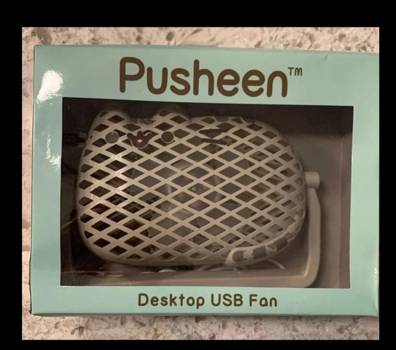 Pusheen USB Desktop Fan New
